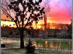 Залез  ,,,Sunset,,, by <b>mfilev</b> ( a Panoramio image )