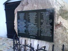 jb - luty 2011 - miejsce zaglady Zydow i Cyganow - tablica 2 by <b>jb.</b> ( a Panoramio image )