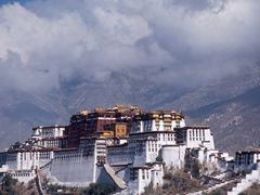 Potala from Jokhang by <b>Dirk Jenrich</b> ( a Panoramio image )