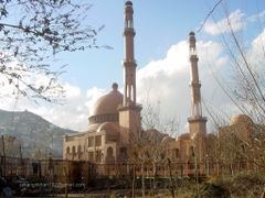 Mir Abdul Rahman Mosque by <b>jahangirkhan192</b> ( a Panoramio image )