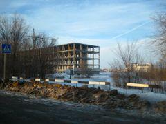 Строительство поликлиники by <b>EG Zombie</b> ( a Panoramio image )