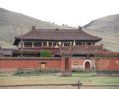Амарбаясгалантын хийд by <b>Mongolia Expeditions & Tours</b> ( a Panoramio image )
