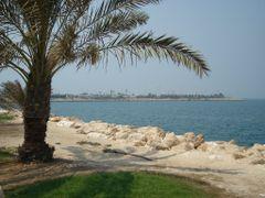 Saudi-Bahrain Causeway by <b>Romesh G</b> ( a Panoramio image )