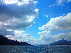 Blue Sky by <b>AkIrA</b> ( a Panoramio image )