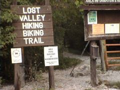 Lost Valley Trailhead by <b>johnRides</b> ( a Panoramio image )