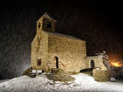 "Esglesia, Sant Cristofol D""Anyos. Andorra  by <b>Herve Poulet Debaut</b> ( a Panoramio image )"