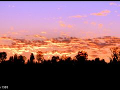 Red Centre sunset..© by leo1383 by <b>leo1383</b> ( a Panoramio image )