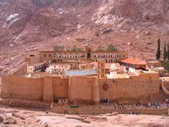 Saint Catherine monastery, Sinay by <b>Darjo</b> ( a Panoramio image )
