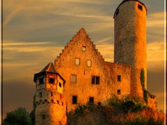 Burg Hornberg mit Himmel by <b>ina-maria</b> ( a Panoramio image )
