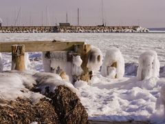 Ice shaped by the wind by <b>charbran</b> ( a Panoramio image )