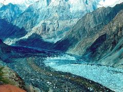 ледник Фортамбек by <b>Sergey Bulanov</b> ( a Panoramio image )