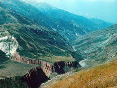 ущелье Кызылсу by <b>Sergey Bulanov</b> ( a Panoramio image )
