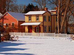 The Houses of Chesapeake City:  Pine Street by <b>Scott Gore</b> ( a Panoramio image )