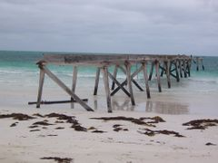 Eucla Jetty by <b>Dusty the dog</b> ( a Panoramio image )