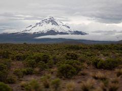 Sopka (The volcano) Nevado Sajama - nadmorska vyska (altitude) 6 by <b>MAPP HUDRANS</b> ( a Panoramio image )