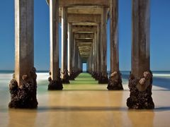 Scripps Pier by <b>Tom Grubbe</b> ( a Panoramio image )