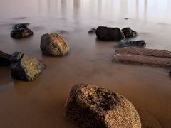 Rocky Shore, San Diego I by <b>Tom Grubbe</b> ( a Panoramio image )