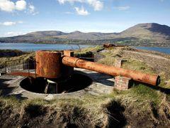 "Lonehort Battery Bere Island 6"" gun by <b>ajmoriarty</b> ( a Panoramio image )"