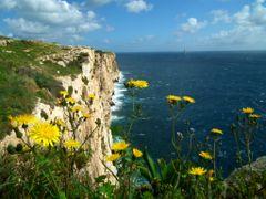 Hal-Far Cliffs by <b>Mario Mizzi</b> ( a Panoramio image )