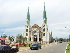 Igreja Nossa Senhora da Penha, Jaragua - Goias by <b>Jose Nery Galvao</b> ( a Panoramio image )