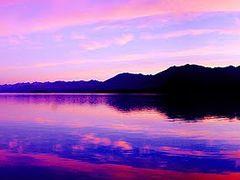 TEKAPO, morning color 180 degree panorama in South Island, NZ by <b>Masahiro Arai</b> ( a Panoramio image )