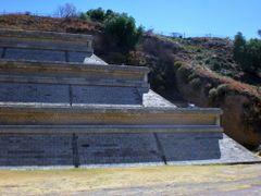 VISTA PONIENTE DE LA GRAN PIRAMIDE DE CHOLULA, PUE. 2009 by <b>Sergio Arce G</b> ( a Panoramio image )