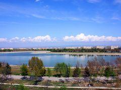 Early spring lake Navoi by <b>Andrew V.Miroshnichenko</b> ( a Panoramio image )