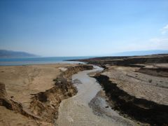 Jordan river flowing to Dead Sea by <b>Jareer Goussous</b> ( a Panoramio image )