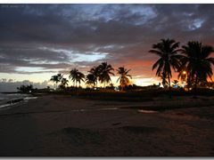 (messi10) Sunrise at Playa Guanabo  [110°]    by <b>©polytropos</b> ( a Panoramio image )