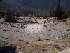 GRECIA - Delfi - Teatro di Apollo by <b>enneeffe</b> ( a Panoramio image )