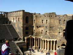 roman theatre by <b>leoleoo</b> ( a Panoramio image )