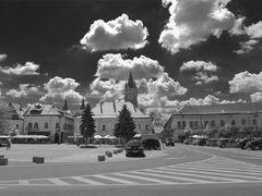 P-ta Millennium (spre Turnul Stefan) - Millennium Square & Steph by <b>Antonius Plaian</b> ( a Panoramio image )