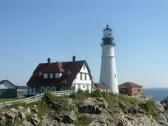 "Portland - The ""Head Light"" by <b>Paolo Grassi</b> ( a Panoramio image )"