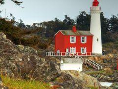Fisgard Lighthouse by <b>Randy Hall</b> ( a Panoramio image )