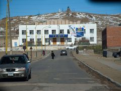 Theater, Mandalgovi, Gobi, Mongolia by <b>P.Romberg</b> ( a Panoramio image )