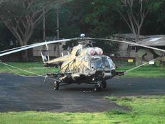 Mil MI17 318 Fuerza Aerea de Nicaragua by <b>gabriel pittelli</b> ( a Panoramio image )