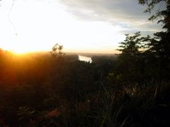 Sunset at Hmarkhawlien Pineapple garden by <b>Minlun</b> ( a Panoramio image )