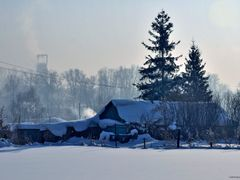 вечер в деревне (белоусовка) by <b>RENat Mansurov</b> ( a Panoramio image )