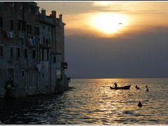 Rovinj - Fisherman by <b>Gligo</b> ( a Panoramio image )