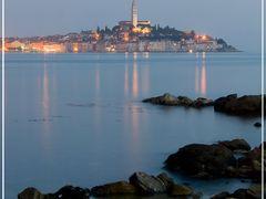 Rovinj - Night is coming by <b>Gligo</b> ( a Panoramio image )
