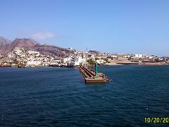 A green lighthouse of Aden Yemen by <b>Florante</b> ( a Panoramio image )