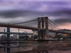 Brooklyn Bridge by <b>maubricco</b> ( a Panoramio image )