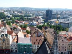 Plzen-z katedraly sv. Bartolomeje by <b>Pech Frantisek</b> ( a Panoramio image )