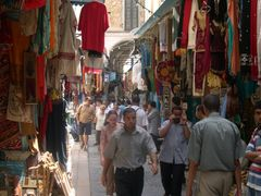 Rue de la grande mosquee Ezaytouna, Tunis by <b>Nicola e Pina Tunisia 2003</b> ( a Panoramio image )