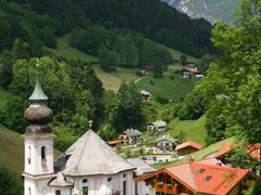 Blick ?ber Maria Gern by <b>Herr Sonstiges</b> ( a Panoramio image )