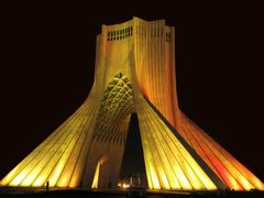 Iran - Tehran - Azadi Tower - ( Information in page 1 ) by <b>Alireza Javaheri</b> ( a Panoramio image )