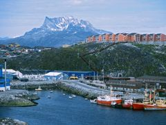 Nuuk Harbour by <b>Dirk Jenrich</b> ( a Panoramio image )