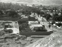 Qala-e-Naw. Operating Base. Два бетонных домика, построенные в 6 by <b>Сургуль</b> ( a Panoramio image )