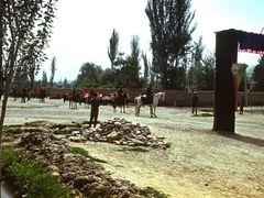 Qala-e-Naw. Holiday. Fiesta. High day. Кавалерия полка царандоя. by <b>Сургуль</b> ( a Panoramio image )