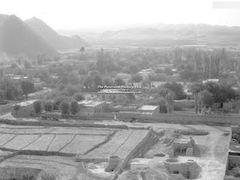Qala-e-Naw. Калай-Нау. Панорама от входа в долину Багак до ММГ.  by <b>Сургуль</b> ( a Panoramio image )